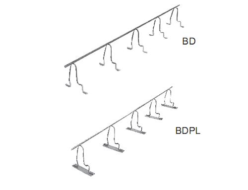 楼板用jian隔件(双层配筋接连,通长shi)BD